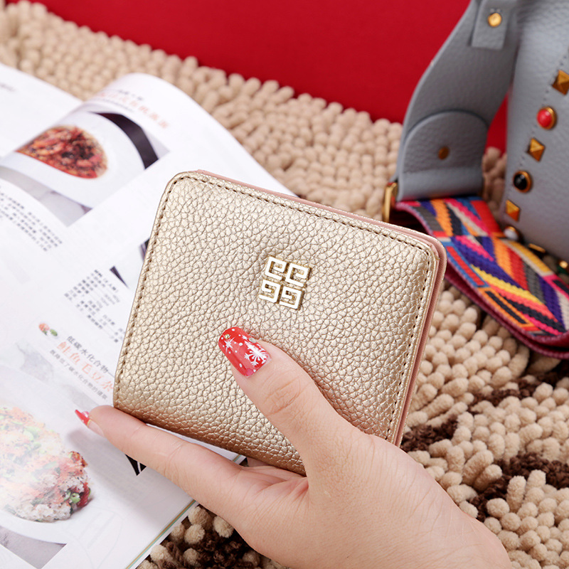 2017 New Tassels Zipper&Hasp Women Wallet For Coin Card Cash Invoice Fashion Lady Small Purse Short Solid Female Clutch Carteras fashion colorful lady lovely coin purse solid golden umbrella clutch wallet large capacity zipper women small bag cute card hold