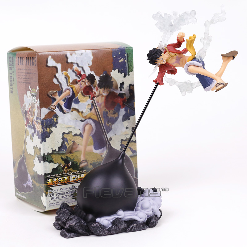 Toys & Hobbies One Piece Monkey D Luffy Battle Version Jet Punch 15cm Model Toys Collectible Anime Pvc Action Figure