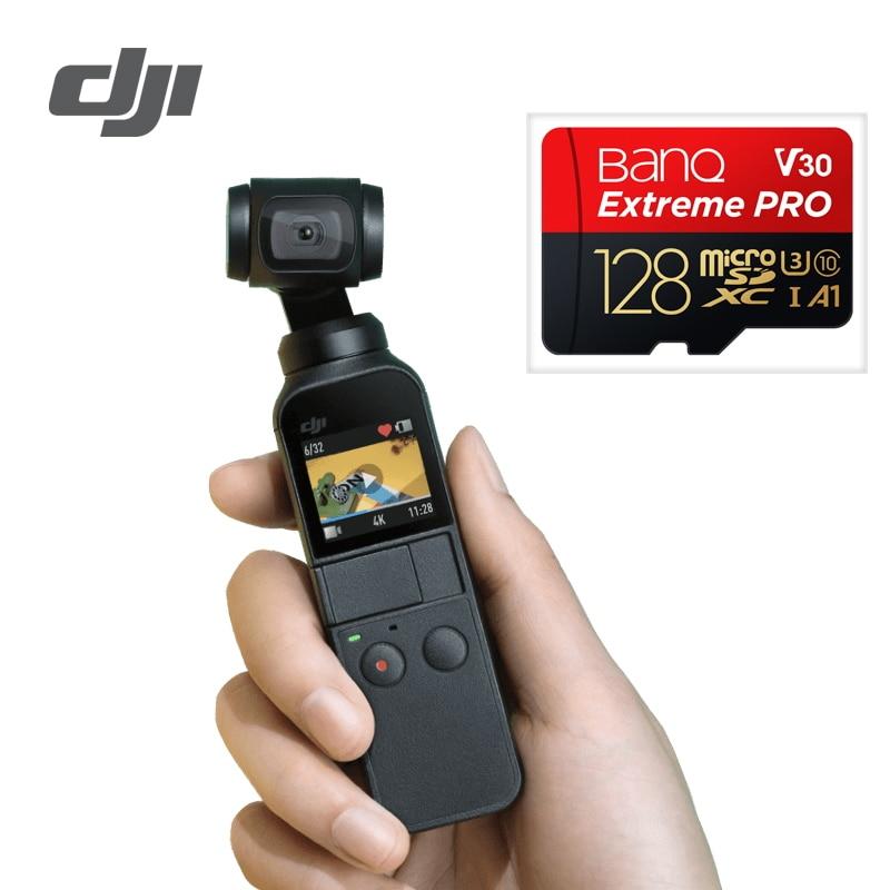 DJI Osmo Tasca 3-assi Stabilizzata Portatile Della Macchina Fotografica Compatibile con Smartphone 4 k 60fps Video Meccanico di Stabilizzazione Leggero