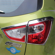 Accesorios exteriores Para Suzuki SX4 S-CROSS Cruzado 2014-2016 Copia de seguridad de la Linterna Cubierta de La Lámpara Trasera Cubierta de La Luz ajuste de diseño de Coches
