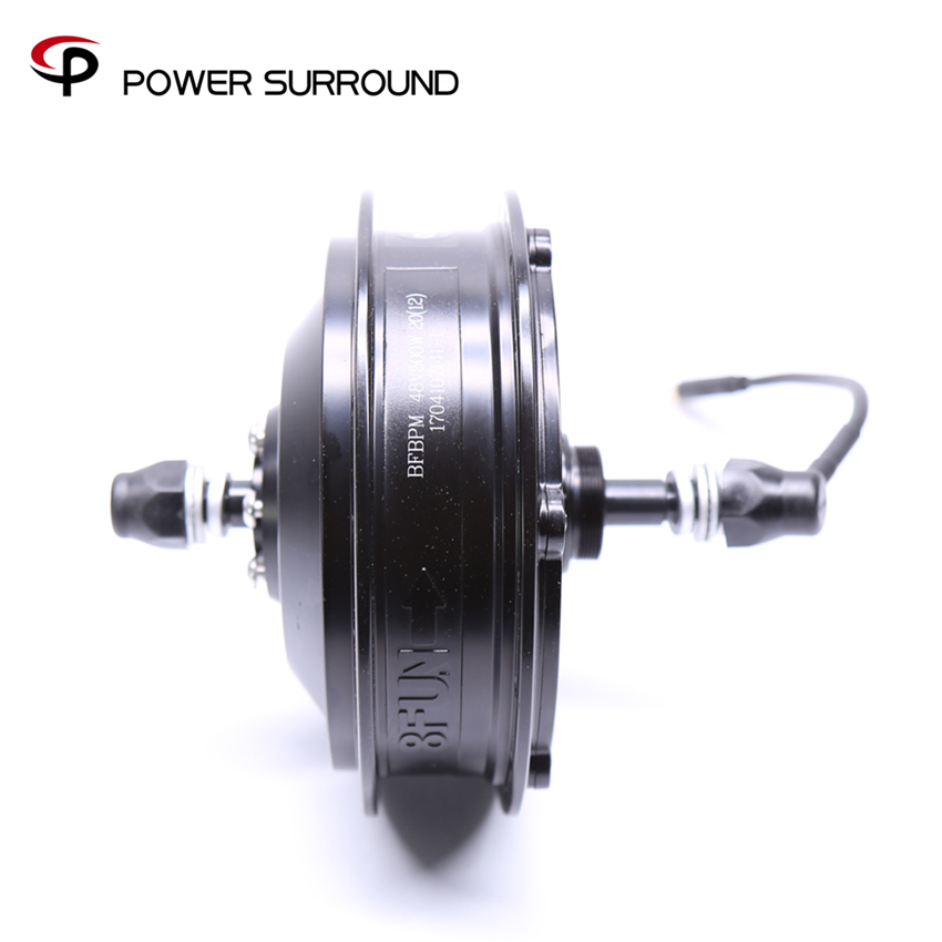 2018 New Sale Free Shipping 48v500w 8fun/bafang Bpm Brushless Hub Rear Motor Powerful Electric Bike Wheel Kit dc dc adjustable boost module 2a boost plate 2a step up module with micro usb 2v 24v to 5v 9v 12v 28v