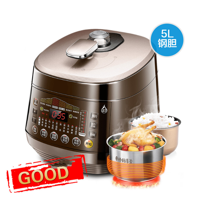 Electric Pressure Cookers pressure cooker household. Double bravery rice cooker electric pressure cookers electric pressure cooker double gall 5l electric pressure cooker rice cooker 5 people