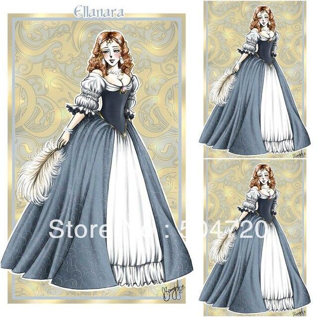19 Century Blue Civil War Southern Belle Gown evening Dress ...