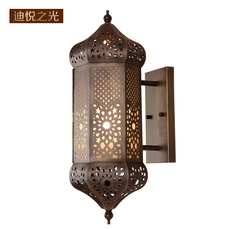 Us 315 0 Arabia Antique E27 Led Wall Lamp Indoor Retro Loft Vintage Sconce Lighting Fixture For Restaurant Staircase In Lamps