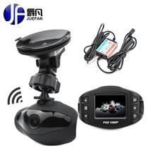 2017NEW JUEFAN Y1 Novatek 96658 Dell'automobile DVR Full HD 1080 P 140 ampio angolo di veicolo videocamera per auto g-sensor wdr super night vision funzione