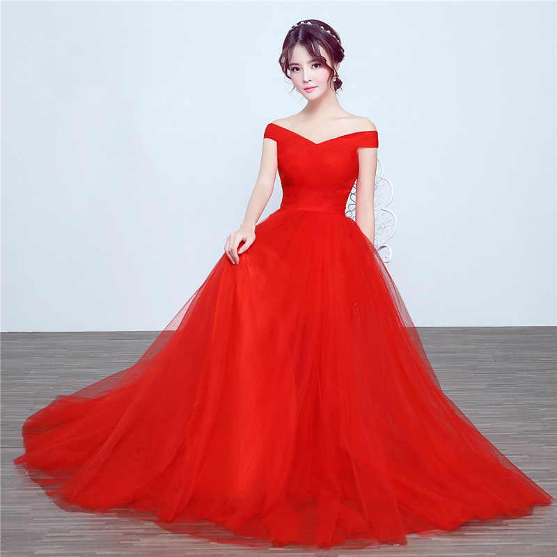 2de40870c60 ... It s Yiiya bridesmaid dresses Elegant long wedding party dress Plus  size royal blue bridesmaid dress Tulle ...