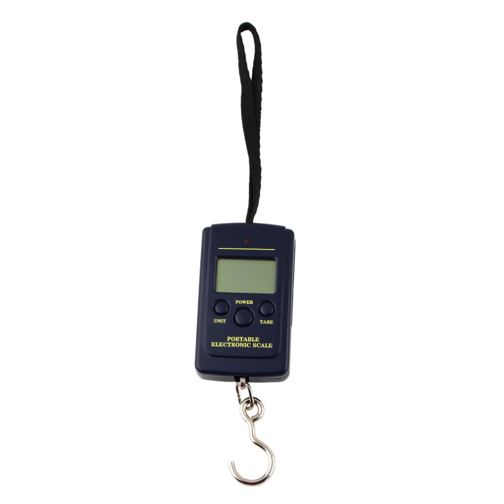 High Quality 1Pcs balance 40kg x 20g Hanging Luggage Electronic Portable Digital Weight Scale scales pocket scale Wholesale