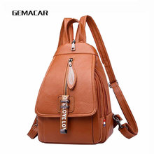 купить Popular Wild Backpacks Fashion Belts School Bags Girls Rucksack Small Women Pu Leather Backpack Female Backpack по цене 1253.78 рублей