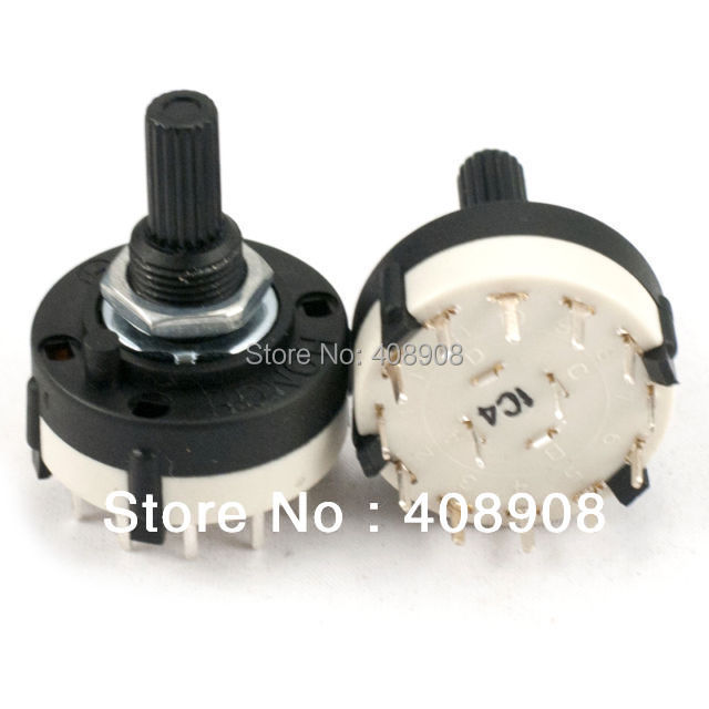 Adjustable 1 Pole 1 12 Position PANEL PCB Wiring ROTARY SWITCH Band on rotary 4 pole wiring diagram, pos 6 cable diagram, 4 pole switch diagram, three-way rotary switch diagram, 6 pole switch diagram,