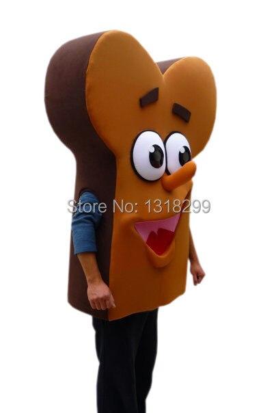 mascot Bone Shape Bread Food mascot costume fancy dress custom fancy costume cosplay theme mascotte carnival costume kits