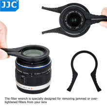 JJC Camera Lens Accessories Removal Tool Filter Wrench for 37/40.5/43/46/49/52/55/58/ 62/67/72/77/82/95mm MCUV/UV/CPL/ND Filters
