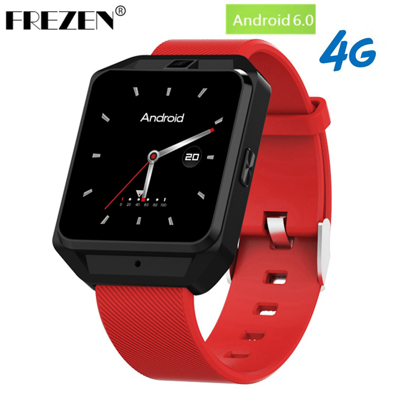 FREZEN 4G Smart Watch M5 Android 6.0 MTK6737 1G+8G WiFi Bluetooth GPS Smart Watch Men Heart Rate Monitor Smartwatch with 5.0MP 4g gps android 6 0 smart watch m5 mtk6737 heart rate monitor support sim card camera business smartwatch for men women 2018 gift