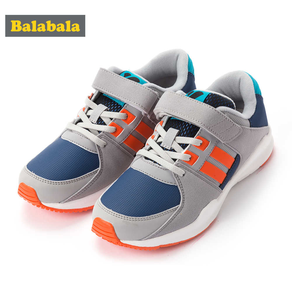 Boys Girls Sports Shoes 2018 Autumn New Children Casual Non-slip Lightweight Shoes Suede PU Soft Wear-resistant Non-slip