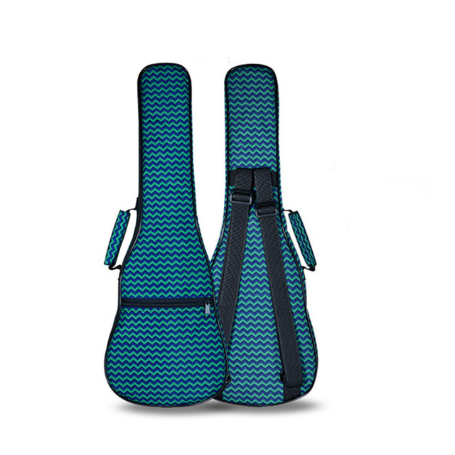 wholesale retail 21 26 concert ukulele bag soprano case lanikai guitar padded guitarra backpack ukelele trap colorful waterproof