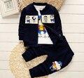 Bebê da menina do menino outono conjuntos de roupas de inverno 3 peças de 80 cm 90 cm 100 cm 110 cm roupas roupa dos miúdos crianças conjuntos de roupas infantis