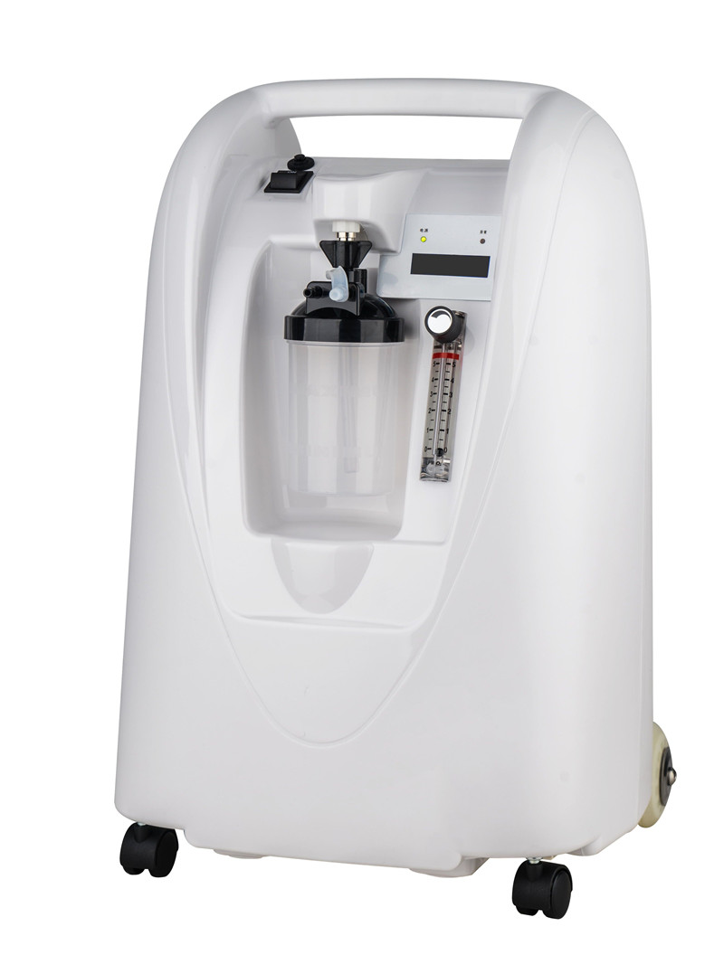 5Lpm 90% Oxygen Concentrator CE Approved Medical and Healthcare Home Hospital Use Oxygen Generator O2 Making Machine healthcare oxygen concentrator continuous flow mini oxygen generator for outdoor home medical use moveable o2 concentrator