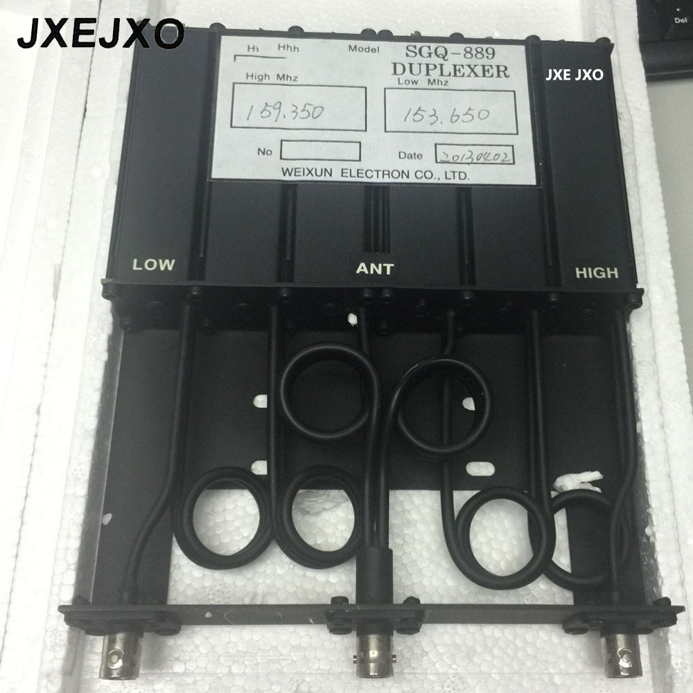 JXEJXO Radio Duplexer VHF For Repeater Of Two Way Radio For GM-300 GM-3188 GM-388 6 CAVITY
