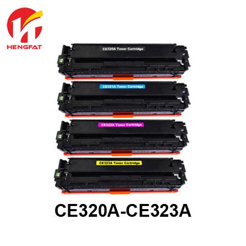 4PCS  Compatibler Color toner cartridge CE320A CE321A CE322A CE323A  ce320 ce321 ce322 ce323 for use in CP1525N CM1415 1 set compatible 128a 320 320a ce320a ce320a ce321a ce322a ce323a toner cartridge for hp cp1525n 1525nw cm1415fn laser printer