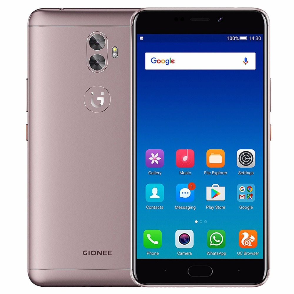 """Gionee A1 Plus 6.0"""" IPS Screen Mobile Phone Android 7.0 MTK6757CD Octa Core 4GB RAM 64GB ROM 4G Smartphone 20MP Cams 4550mAh"""