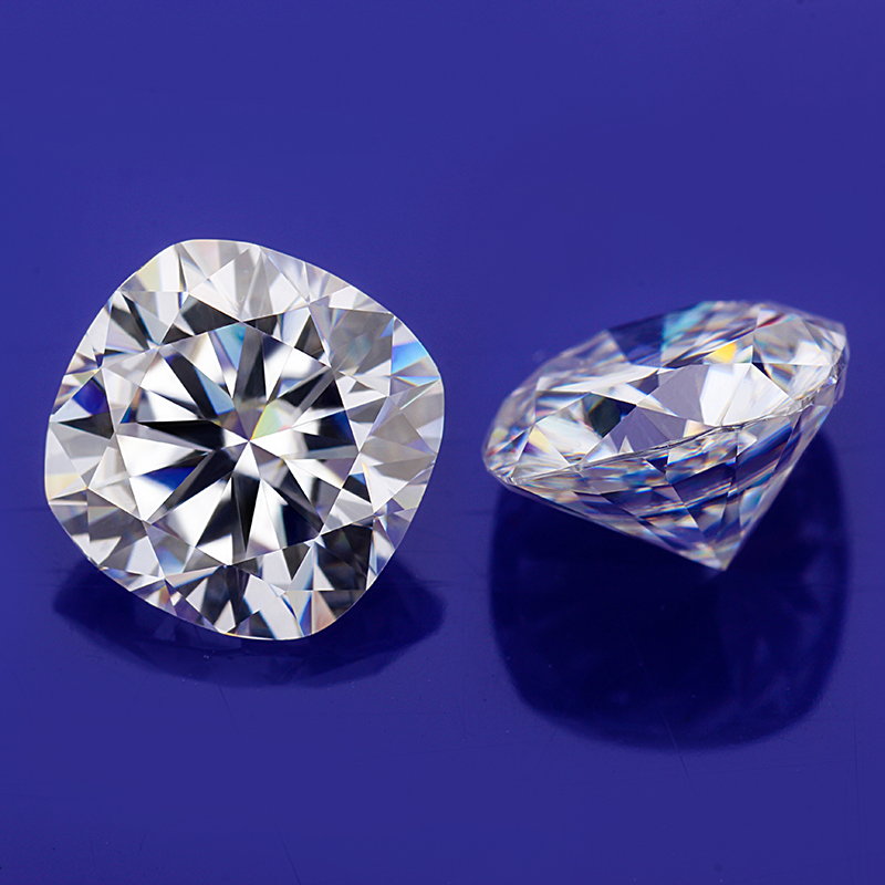 Starszuan DEF cushion shape EF 4.5*4.5mm 0.5ct loose lab created moissanites diamonds jewelry gems image