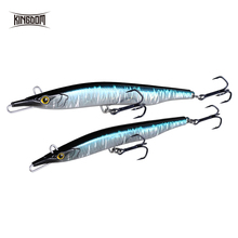 Kingdom Fishing Lure Needle Stick Jerkbait Wobblers Sinking Isca Artificial Gear Pencil 9504