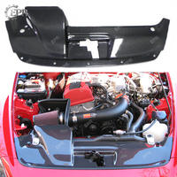 For HONDA S2000 (2001 2005) Carbon Cooling Slam Panel Body Kit Tuning Part Tirm Racing For S2000 Carbon Fiber Cooling Cover