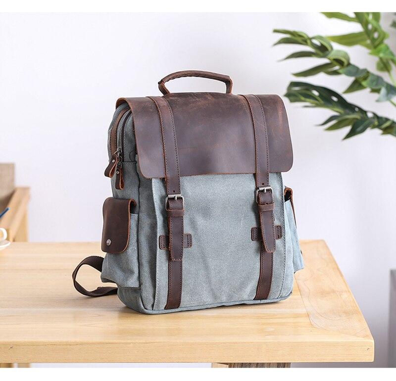 Manitoba Small Canvas Backpack