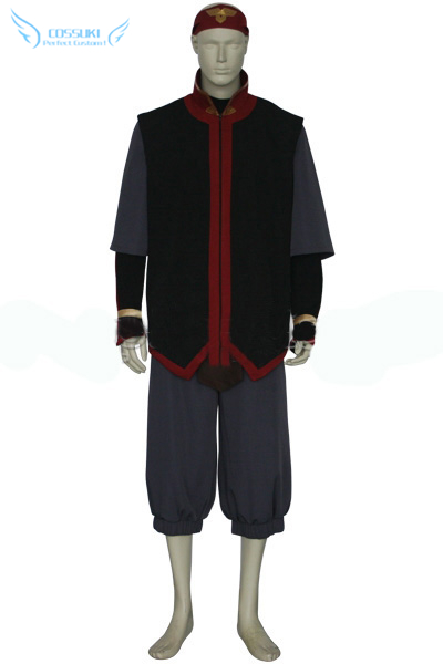 Newest High Quality Avatar The Last AirBender Aang Uniform Cosplay Costume Perfect Custom For You