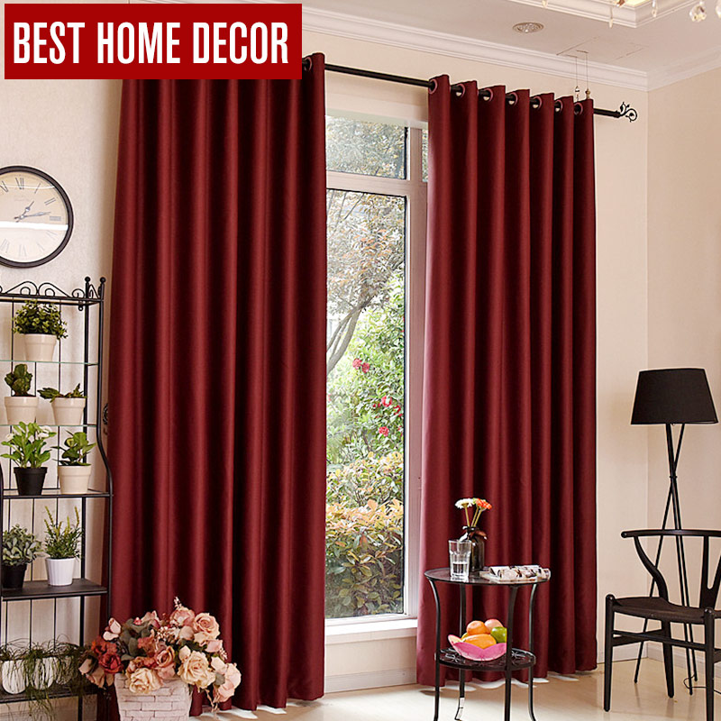 Bhd modern blackout curtains for window treatment blinds Contemporary drapes window treatments