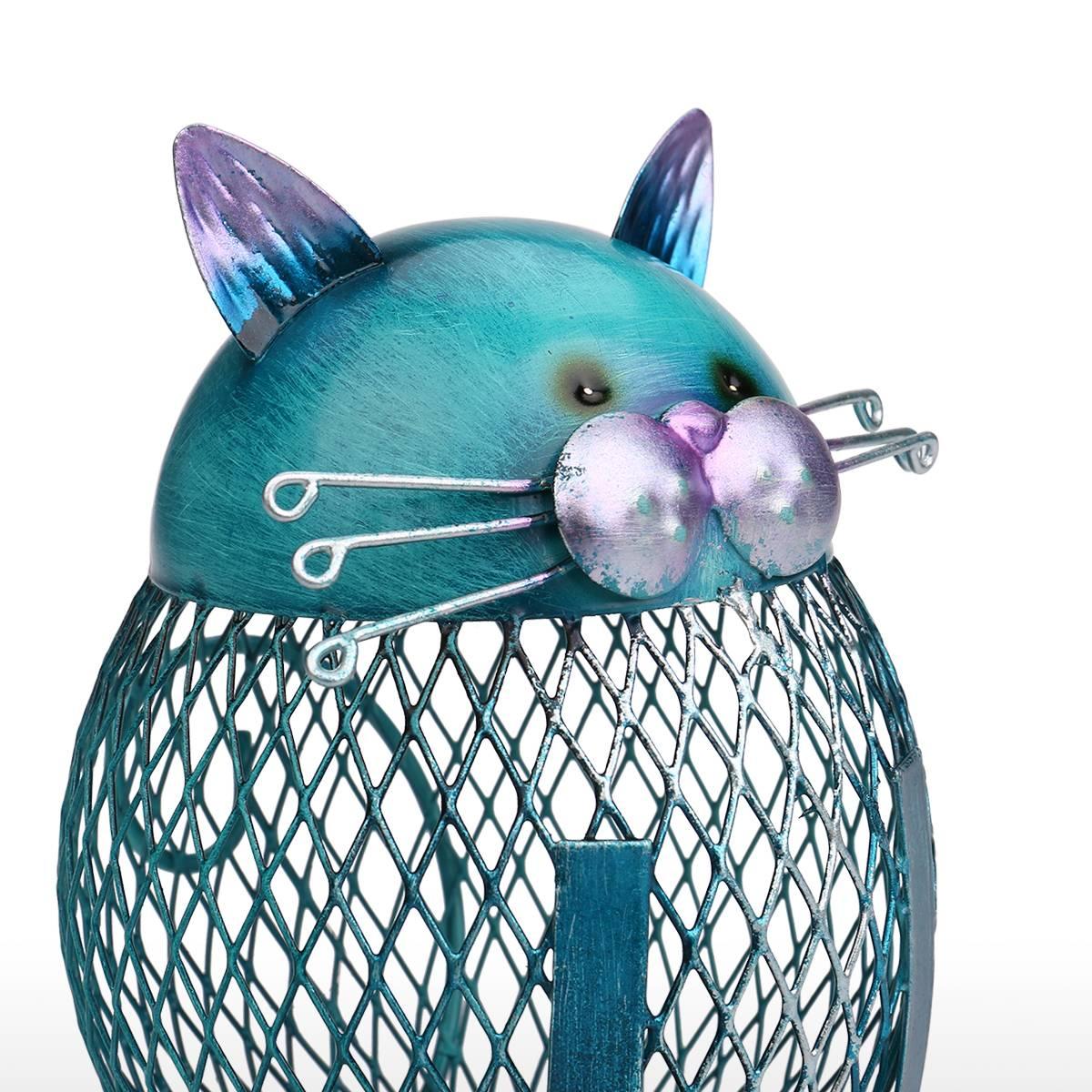 Tooarts-Blue-Cat-Figurine-Piggy-Bank-Metal-Figurine-Animal-Money-Box-Vintage-Home-Decor-Shaped-Home-Decoration-Crafts-For-Home-1
