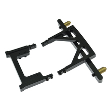 1/10 rc rock crawler scx10 frame land cruiser lc80 car shell fitted pieces