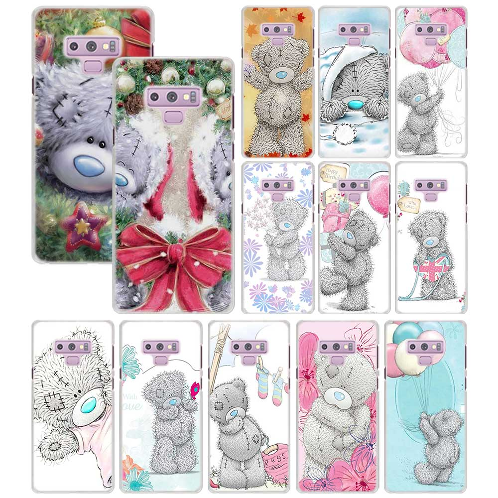 Tatty Teddy Me To You Bear Phone case for Samsung Galaxy Note 9 8 5 S9 S8 Plus S6 S7 edge S5 PC Mobile phone bag case