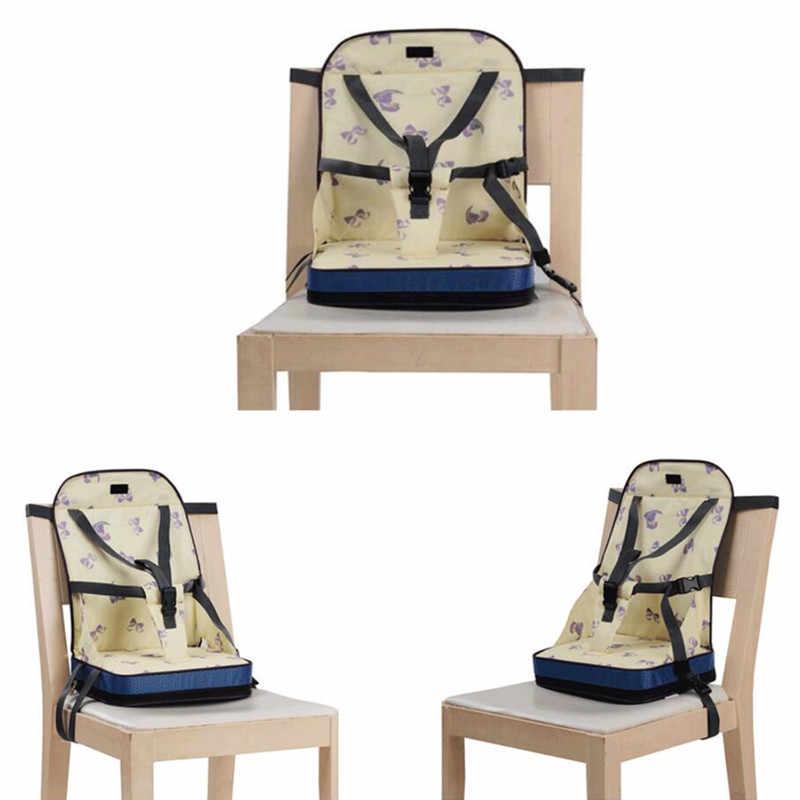 ความปลอดภัยเก้าอี้เด็กที่นั่งเด็กทารกแบบพกพาเด็กรับประทานอาหารเก้าอี้สูงที่นั่งกระเป๋า Feeding เบาะเก้าอี้สูงเด็กวัยหัดเดินเพิ่มที่นั่ง