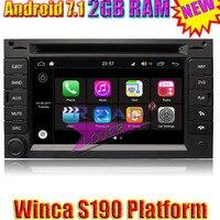 Winca S190 Android 7.1 Car PC Media Center Radio Odtwarzacz DVD dla VW Golf 4/B5 Passat/Stereo Nawigacji GPS Auto Wideo Dwa Din MP3