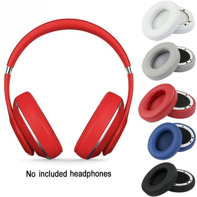 b8f14b2365d 2pcs Replacement Sponge Earpad Ear Cups Cushion for Beats by dr dre 2.0  Studio Wireless wired