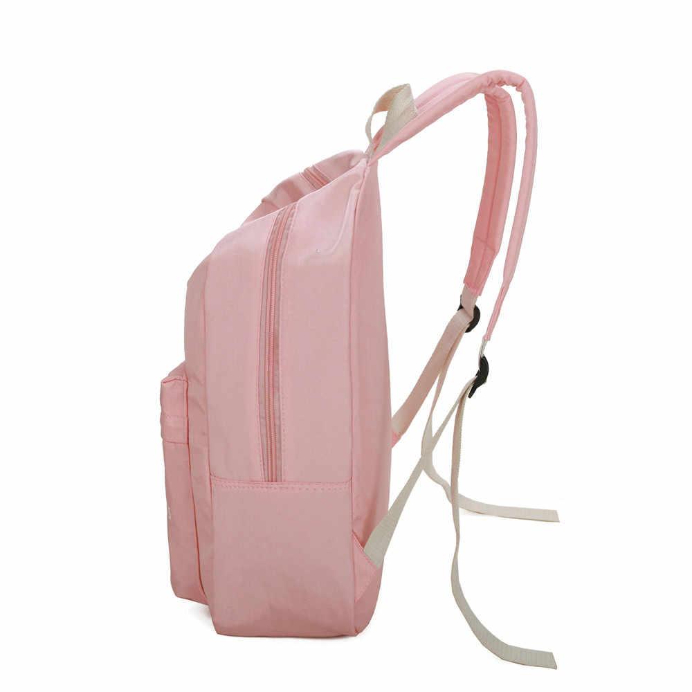 81f10b346b7 ... Aelicy Woman Backpack Laptop Waterproof Nylon Korean Fashion Backpack  Schoolbag Backpacks Schoolbags Travel Mochila Feminina L ...