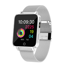 X9 1.54 inch Ultrathin 10mm Smartwath With LED Light Ip68 Waterproof All Day Heart Rate Tracker Smart Watch for Android Iphone