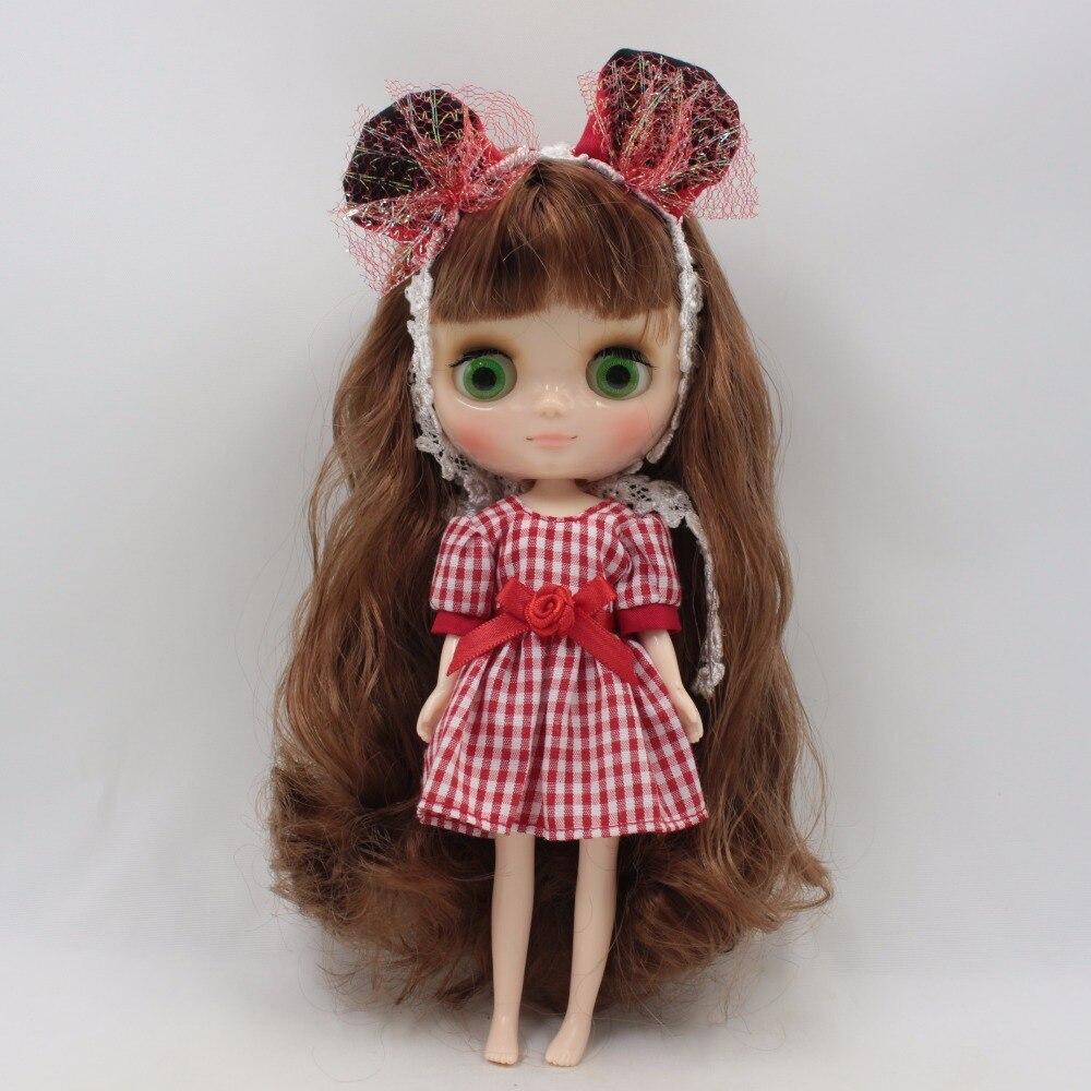 Middie Blythe Doll Elegant Colorful Dress 2