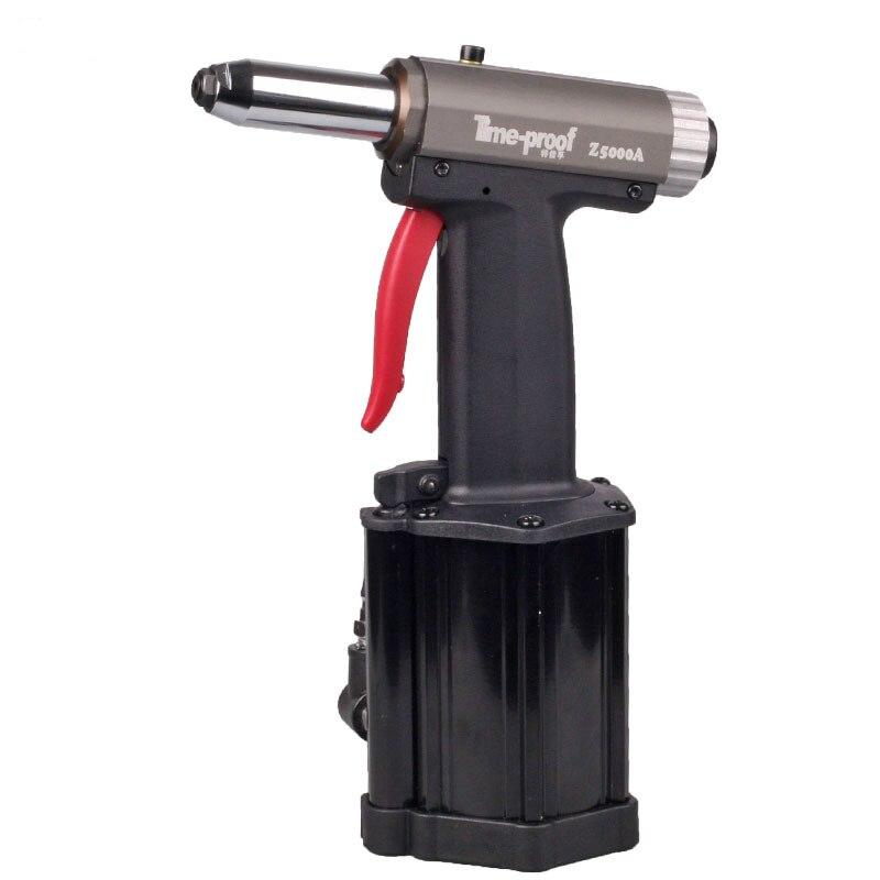 Professional Pneumatic Commercial Pneumatic Rivet Gun Hydraulic Riveting Tool Air Riveter Power Tool For 2.4-5.0mm Blind Rivets