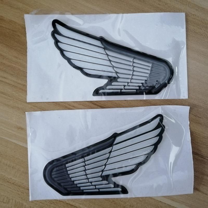 3D Wings Logo Sticker Tank Emblem badge Motorcycle Car Decal for CBR600RR CBR RR 125 VFR VF CB 400 600 1000 CBR1000RR