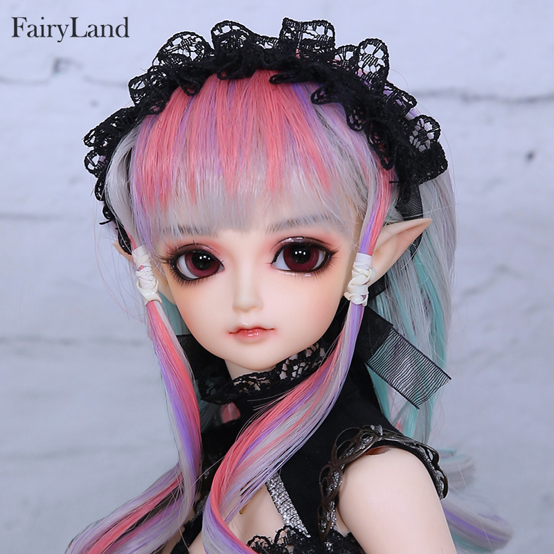 Free Shipping Minifee Eliya BJD Doll 1/4 Elf Girl Flexible Resin Figure Fullset Option Toy For Girl Fantastic Gift Fairyland