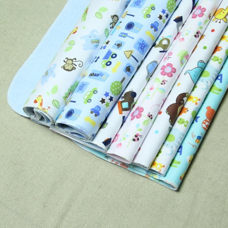 Insular 100% Cotton Baby Nappy Changing 3 Layers Lamination Baby Changing Mat Urine Pad Baby Mat muji japan 4 layers facial cotton pad 60 sheets x 2 box
