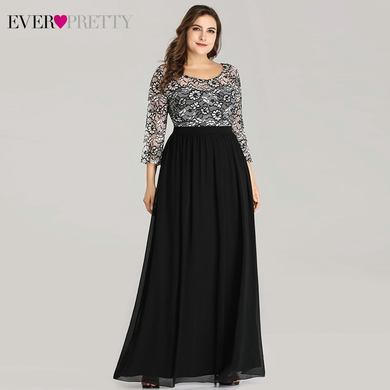 e5718e336b Hot Sale] Elegant Mother Of The Bride Dress Plus Size Ever Pretty ...