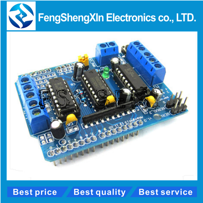 L293D driver module motor control shield motor drive expansion board FOR Arduino motor shield