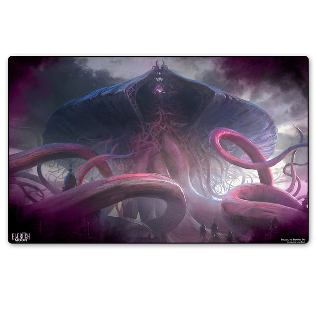 Emrakul the Promised End Magic cards Board Games The Play Mat Custom mgt tcg big Table Pad Playmats with storage bag