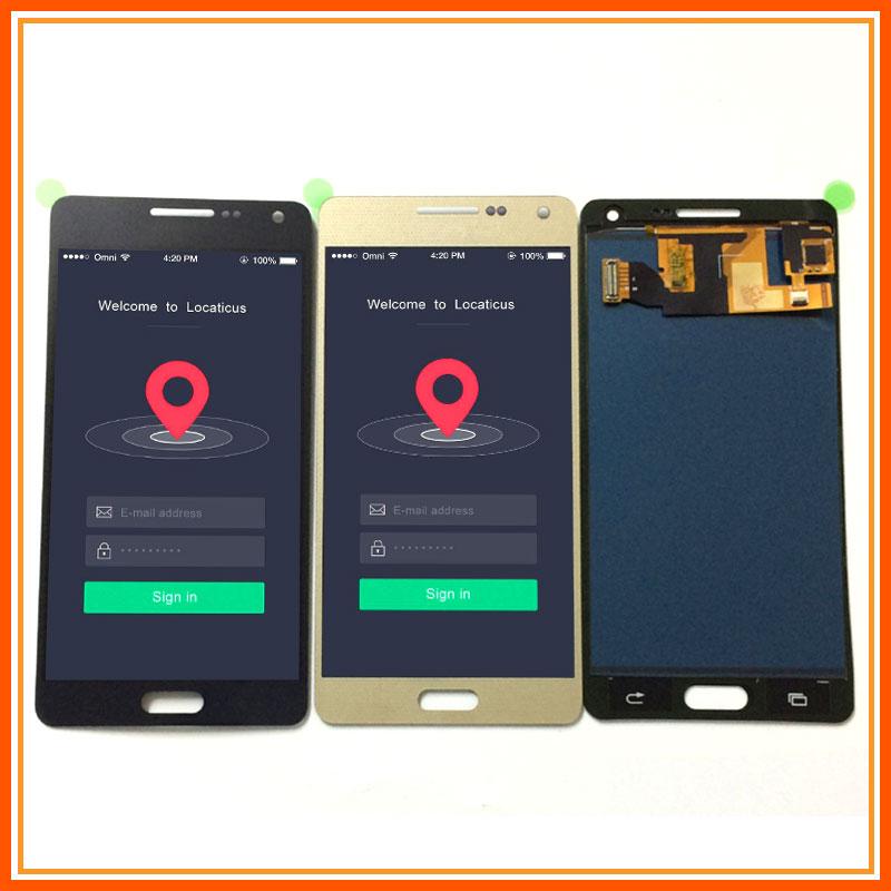 Para Samsung Galaxy A5 2015 A500 SM-A500F A500FU A500M A500H Monitor LCD + digitalizador de pantalla táctil de la Asamblea