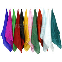 90 90cm Close Up Magic Silk Square Into Ultra Thin Silk Scarf Magic Silk Magic Tricks