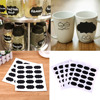 75pcs/5set Blackboard Sticker For Kitchen Can Bottle Jar Stickers-Free Shipping