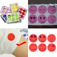 60 Pcs SmileInsect Mosquito Repellent Stickers Patches Citronella Oil Mosquito Killer Cartoon Repeller Sticker