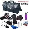 NEWBOLER Gym Bag Leather Women Fitness Shoe Compartment Men Duffle Shoulder Bags Waterproof Travel Training Large Sport Handbag  2